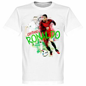 Ronaldo Motion KIDS Tee - White