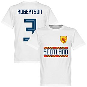 Scotland Robertson 3 Team Tee - White