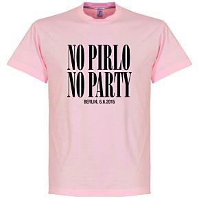 No Pirlo No Party Berlin Final Tee - Pink
