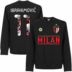 Milan Team Ibrahimović 11 Gallery Sweatshirt - Black