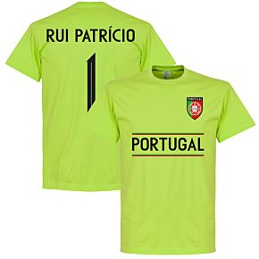 Portugal Rui Patricio 1 Team Tee - Apple Green