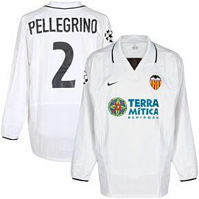 Nike Valencia 2002-2003 Home C/L L/S Pellegrino 2 Player Issue Shirt - NEW Condition
