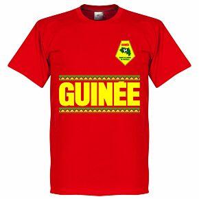 Guinea Team Tee - Red