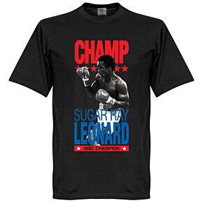 Sugar Ray Leonard Boxing Legend Tee - Black