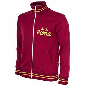 74-75 AS Roma Retro Track Jacket - Red
