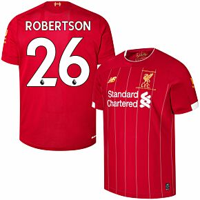 19-20 Liverpool Home P/L Champions Home Shirt + Robertson 26