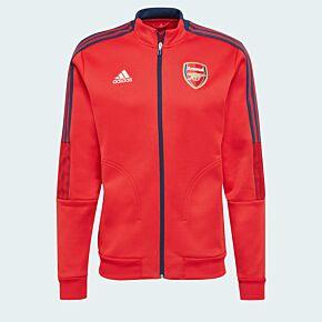 21-22 Arsenal Anthem Jacket - Red