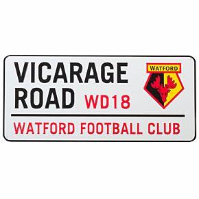 Watford Street Sign -40cm x 18cm