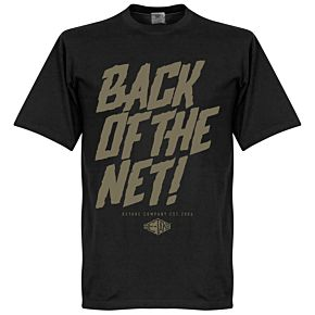 Retake Back of the Net! Tee - Black