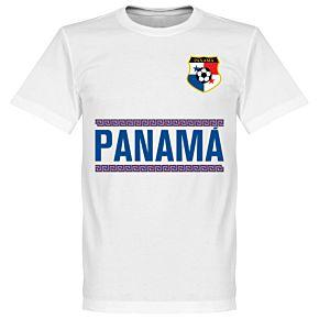 Panama Team Tee - White