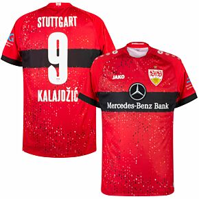 21-22 VfB Stuttgart Away Shirt + Kalajdzic 9 (Official Printing)