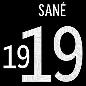 Sané 19 (Official Printing) - 20-21 Germany Away