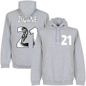 Zidane Gallery Hoodie - Grey