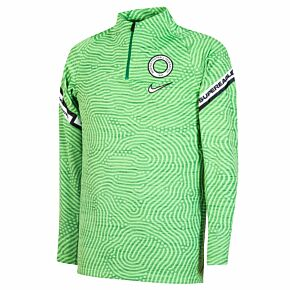 20-21 Nigeria Strike Drill Top - Green