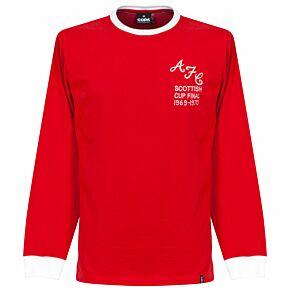 69-70 Aberdeen FC L/S Retro Shirt