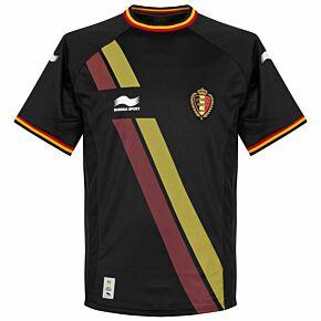 14-15 Belgium Away Shirt - BOYS + De Bruyne 7 (Fan Style)
