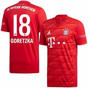 adidas Bayern Munich Home Goretzka 18 Jersey 2019-2020 (Official Printing)