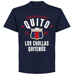 Quito Established T-shirt - Navy