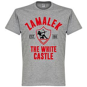 Zamalek Established Tee - Grey