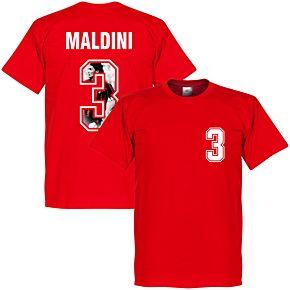 Maldini 3 Gallery Tee - Red
