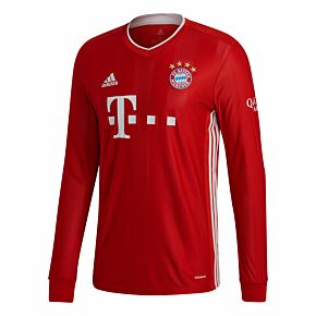 20-21 Bayern Munich Home L/S Shirt