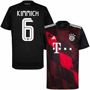 20-21 Bayern Munich 3rd Shirt + Kimmich 6 (Official Printing)