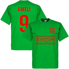 Bangladesh Biswas 10 Team Tee - Green