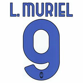 L.Muriel 9 (Official Printing) - 20-21 Atalanta Away