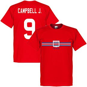 Costa Rica Campbell J. Tee - Red