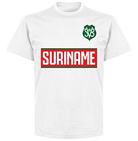 Suriname Team T-Shirt - White