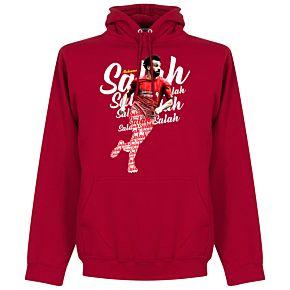 Salah Script Hoodie - Red