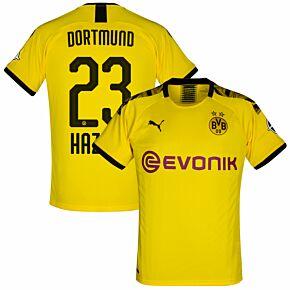 Puma Borussia Dortmund Home Hazard 23 Jersey 2019-2020