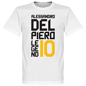 Del Piero Legend Tee - White