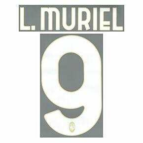 L.Muriel 9 (Official Printing) - 21-22 Atalanta Home