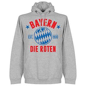 Bayern Established Hoodie - Grey