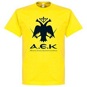 AEK Emblem Tee - Yellow