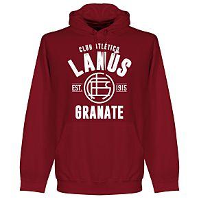 Lanus Established Hoodie - Maroon