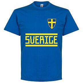Sweden Team Tee - Royal