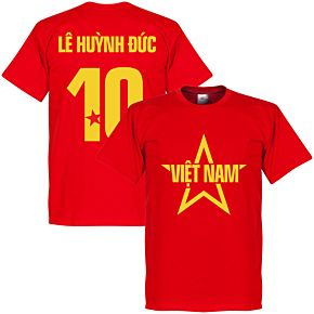 Vietnam Le Huynh Duc Star Tee - Red