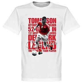 Tomasson Legend Tee - White