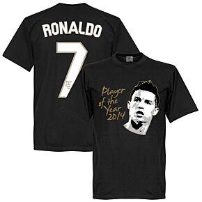 Ronaldo Player of the Year KIDS Tee - Black