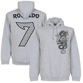 Real Dragon Ronaldo No.7 Hoodie - Grey