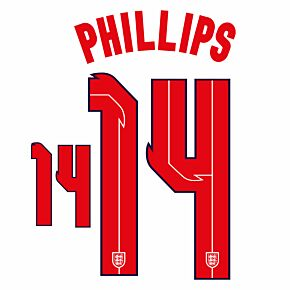 Phillips 14 (Official Printing) - 20-21 England Home