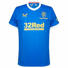 21-22 Rangers Home Shirt