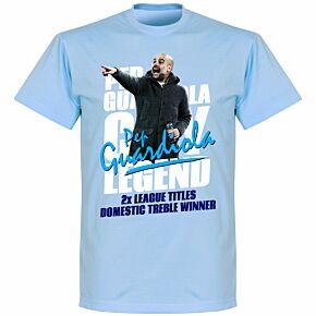 Pep Guardiola Legend Tee Sky