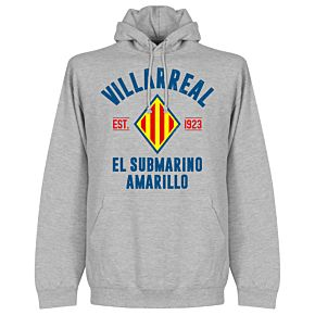 Villarreal Established Hoodie - Grey