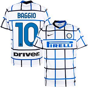 20-21 Inter Milan Away Shirt + Baggio 10 (Official Printing)