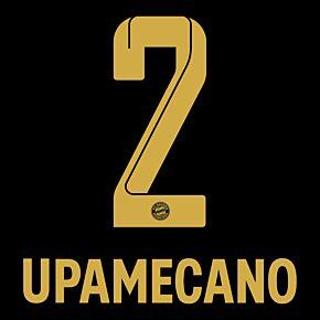 Upamecano 2 (Official Printing) - 21-22 Bayern Munich Away