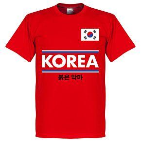Korea Team Tee - Red