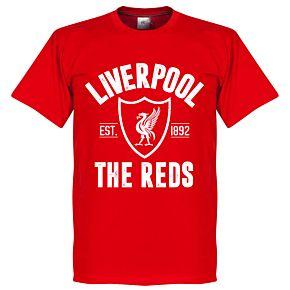 Liverpool Established KIDS T-Shirt - Red